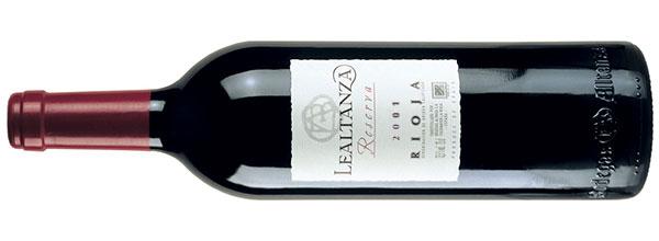 Lealtanza Reserva Rioja 2001